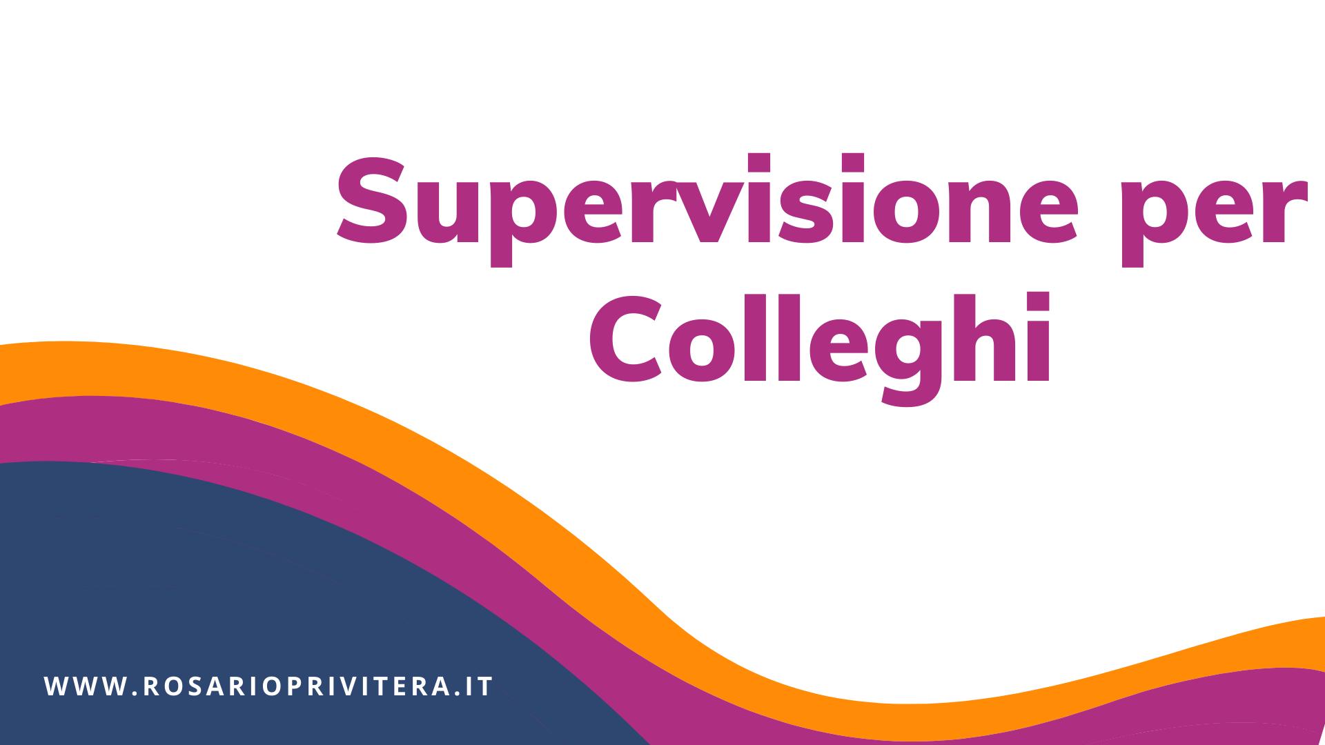 Supervisione per colleghi su tematiche lgbt