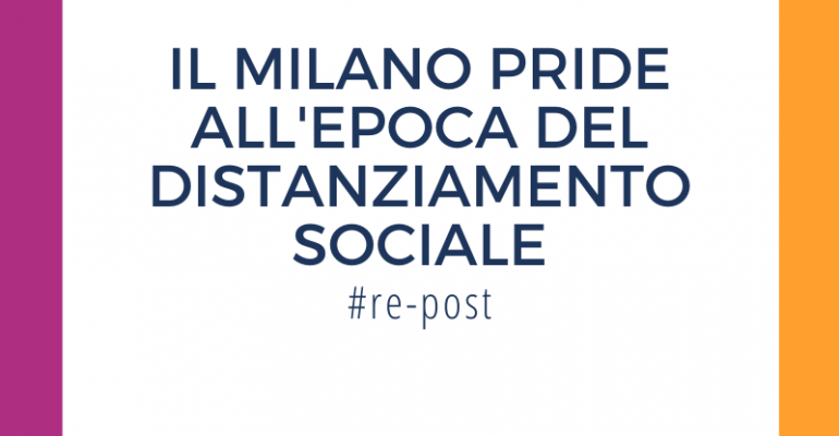 Milano Pride durante pandemia